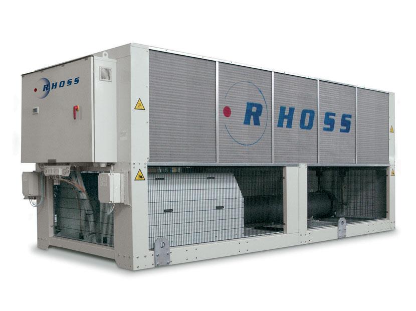 Чиллер охлаждения воды на производстве